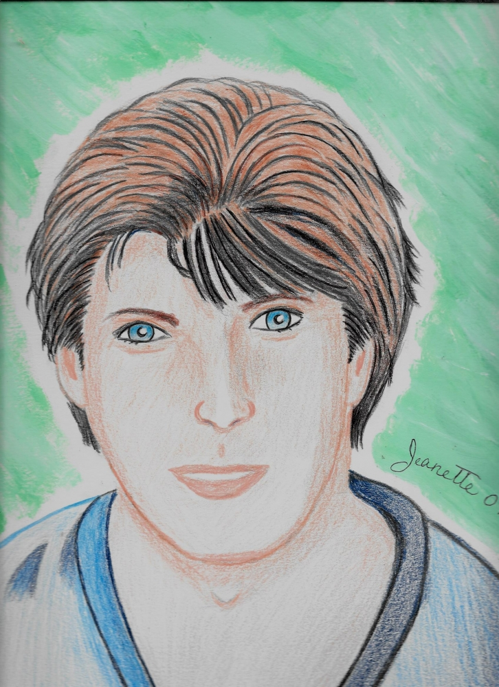Christopher Reeve by Jeanette